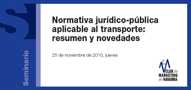 Normativa júridico-pública aplicable al transporte: resumen y novedades