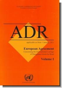 Acuerdo Europeo sobre Transporte Internacional de mercancías peligrosas por carretera (ADR 2011)